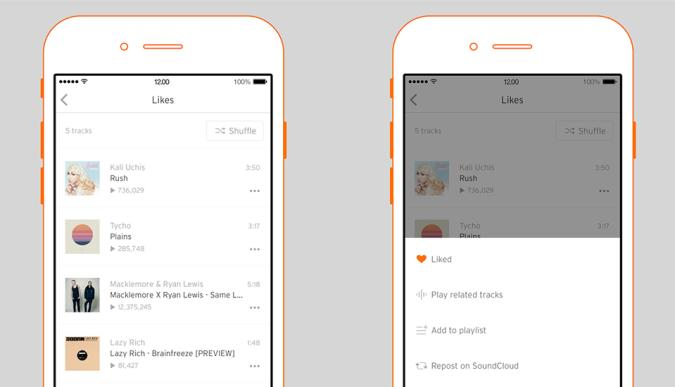 SoundCloud iOS update makes it easier to find new music