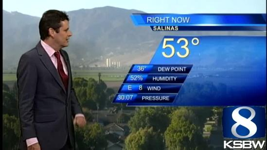 Get Your Saturday KSBW Weather Forecast 9.28.13