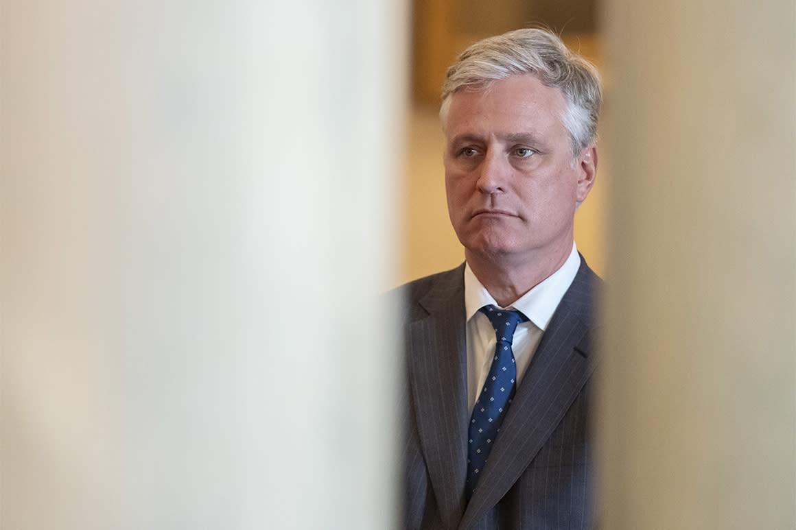 How Robert O'Brien helped steer the Pentagon toward a bigger Navy