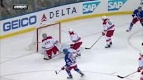St. Louis sets up Richards on the power play