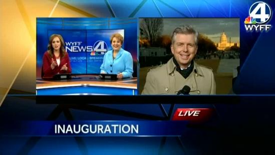 Crowds filled the National Mall for the 57th Inauguration