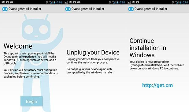 CyanogenMod makes installing its Android OS a breeze with new desktop and mobile apps