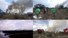 Fotos: Así fue el accidente de Aeroméxico en Durango