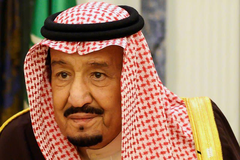 Saudi King tells Trump that kingdom is eager to achieve fair solution to Palestinian issue
