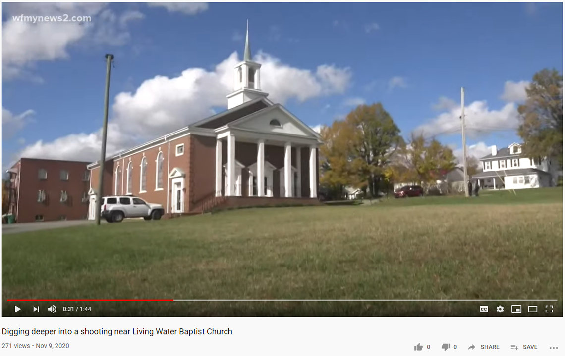 'Brazen' shootout at church funeral service leaves 18-year-old dead, NC police say