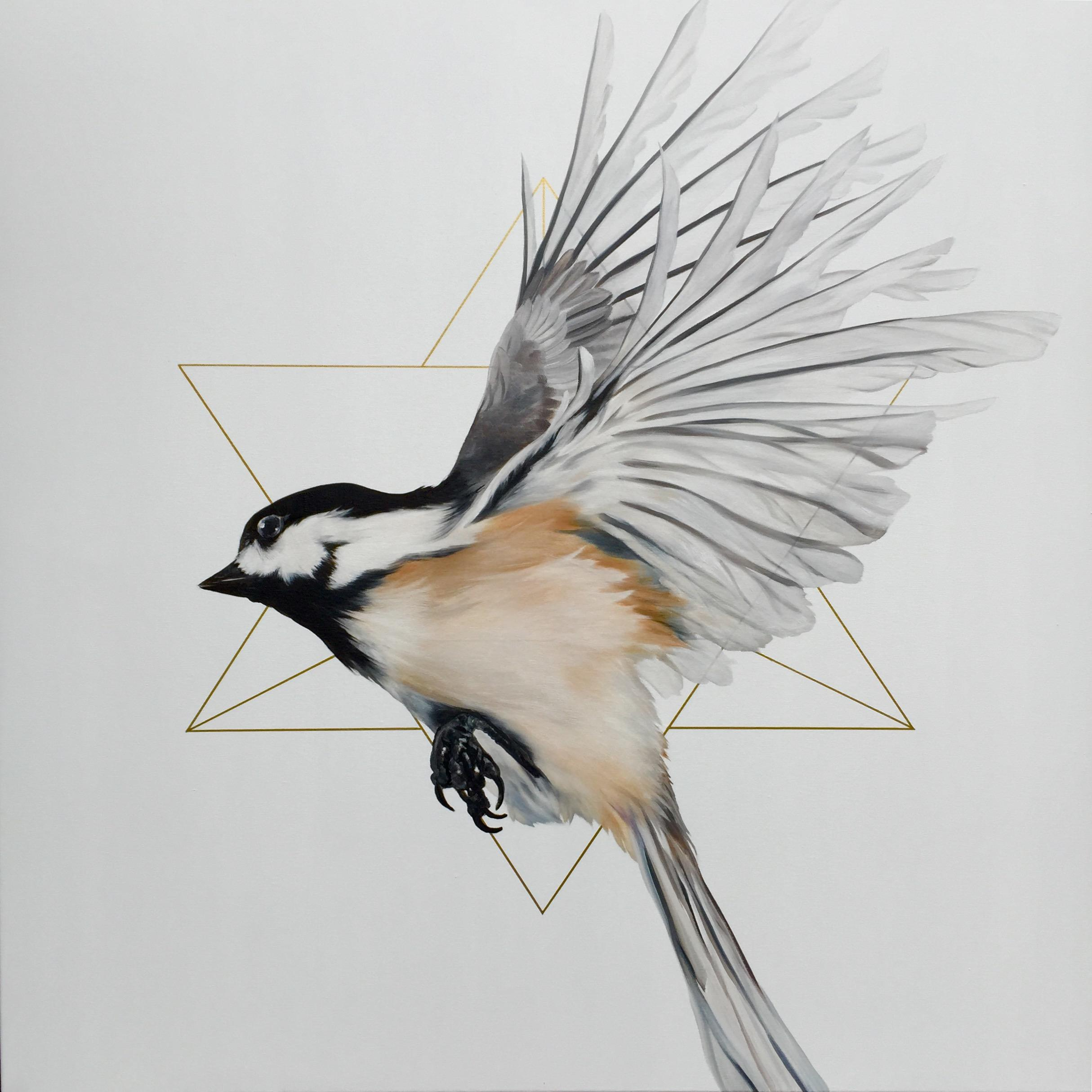 """Merkaba in flight, 2016"" by Melissa Del Pinto"