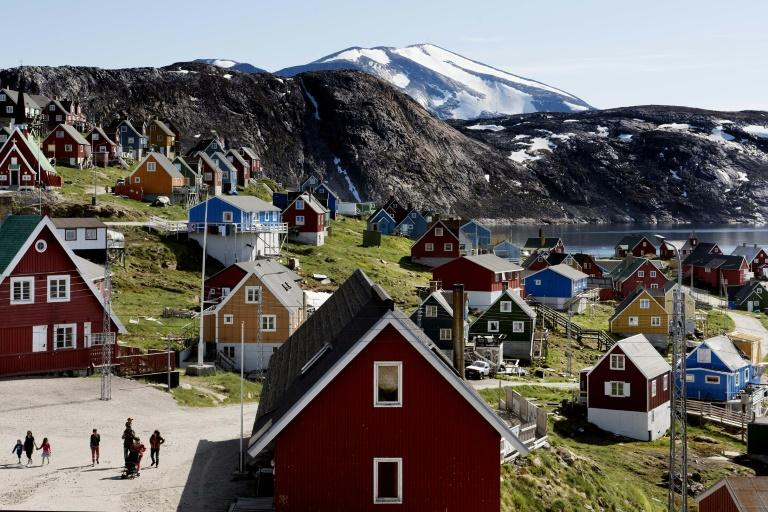 Greenland's population of around 60,000 was taken aback by US President's Trump's offer to buy the autonomous Danish island (AFP Photo/Linda Kastrup)