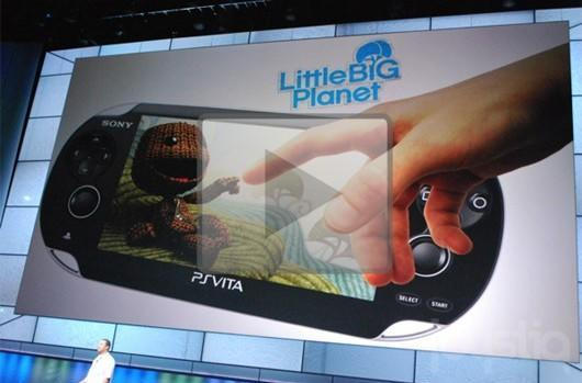 Let your eyeballs touch this LittleBigPlanet PlayStation Vita E3 trailer