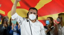 Tough coalition talks in North Macedonia after tight polls