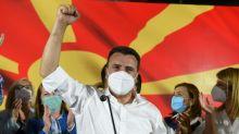 North Macedonia Social Democrats grab narrow poll win over nationalists