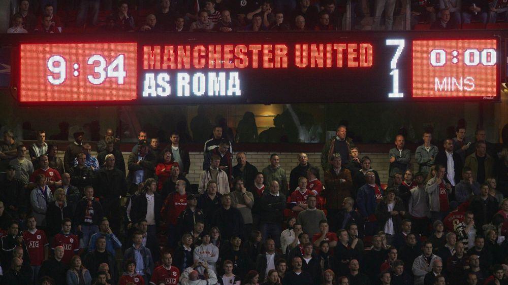 10 aprile 2007, dieci anni da Manchester United-Roma 7-1