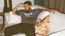 Drake wears his love for Rihanna in a sneaky way