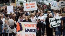 Thousands protest Trump as 'sister marches' begin in Australia and New Zealand