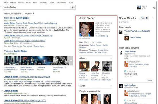Bing boosts snapshot search with richer info on famous faces and places