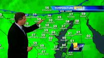 Tony: Variable temps today; Sun, clouds expected