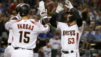 D-backs win big after benching starters
