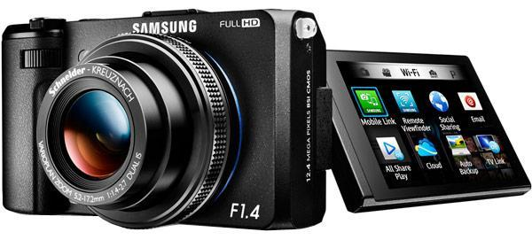 Samsung upstages Sony with f/1.4-equipped EX2F point-and-shoot for $549