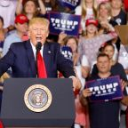 Trump eggs on rally supporters chanting 'send her back' as he steps up racist attack towards congresswomen