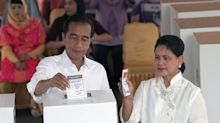 Jokowi Set to Win Second Term in Indonesia Vote, Calls for Unity