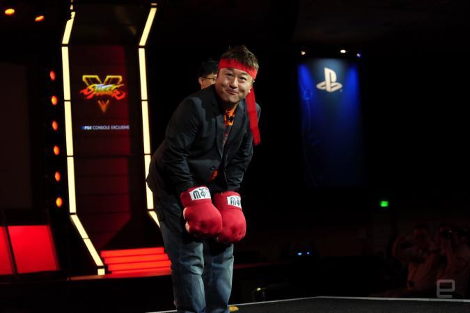 Street Fighter producer Yoshinori Ono