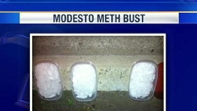 Meth Bust At DUI Check Point