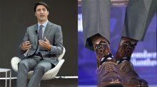 襪子外交!加拿大總理杜魯多的時尚花襪子