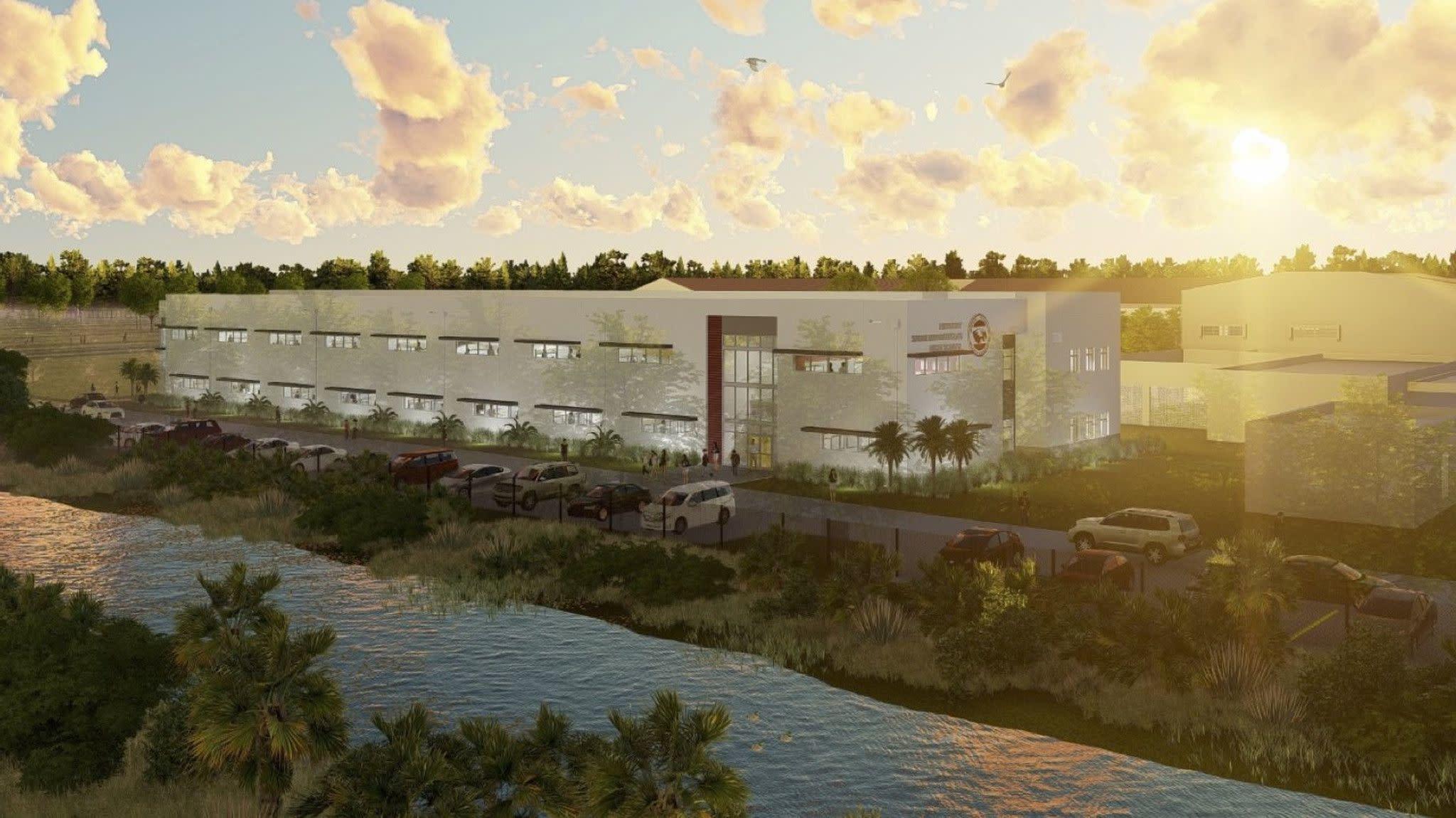 New freshman building unveiled at Marjory Stoneman Douglas High School