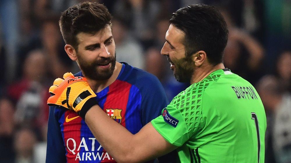 """Piqué: """"Buffon merece a Bola de Ouro"""""""