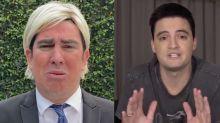 """Adnet vira Trump e rebate provocações de Felipe Neto: """"Você é um fiasco"""""""