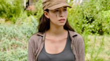 Walking Dead Star Christian Serratos Is Not Here For Your Breastfeeding Criticism