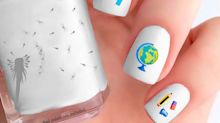 Nail Stickers Make These 15 Back-To-School Themed Manicures Insanely Easy