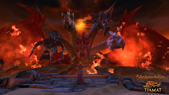 Neverwinter's Rise of Tiamat gameplay trailer is here