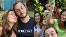 """Túlio revela que """"rouba"""" roupas do filho de Fátima e fala de enteados: """"Me aturaram"""""""