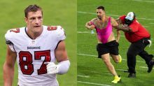 Rob Gronkowski thinks Chiefs should sign Super Bowl streaker: 'He actually scored'