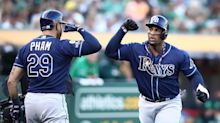 AL Wild Card: Tampa Bay Rays use the long ball to knock off A's