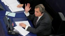 Farage backs off second Brexit referendum talk as EU says UK still welcome