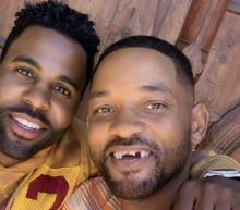 Will Smith's front teeth 'knocked out' by Jason Derulo in golf lesson prank