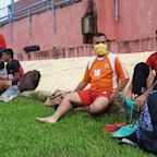 Amateur football clubs in Indonesia resume training after COVID-19 lockdown