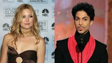 Kate Hudson recalls wardrobe malfunction in front of Prince: 'He just thought it was so funny'