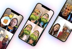 Facebook Messenger adds group AR effects and games to video calls