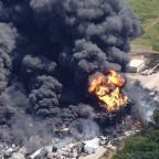 In photos: Massive fire at Illinois chemical plant prompts evacuations
