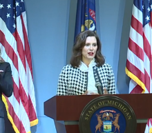 Michigan Gov. Gretchen Whitmer says husband's boat dock request was a bad joke: 'I wasn't laughing either'