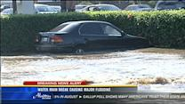 Water main break causes major flooding in Midway