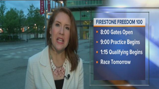Drivers prep for Firestone Freedom 100