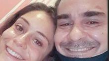 Filha de André Gonçalves com Cynthia Benini visita o pai e o acompanha no 'Dança dos famosos'