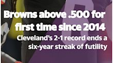 Browns post winning record for first time in 6 years