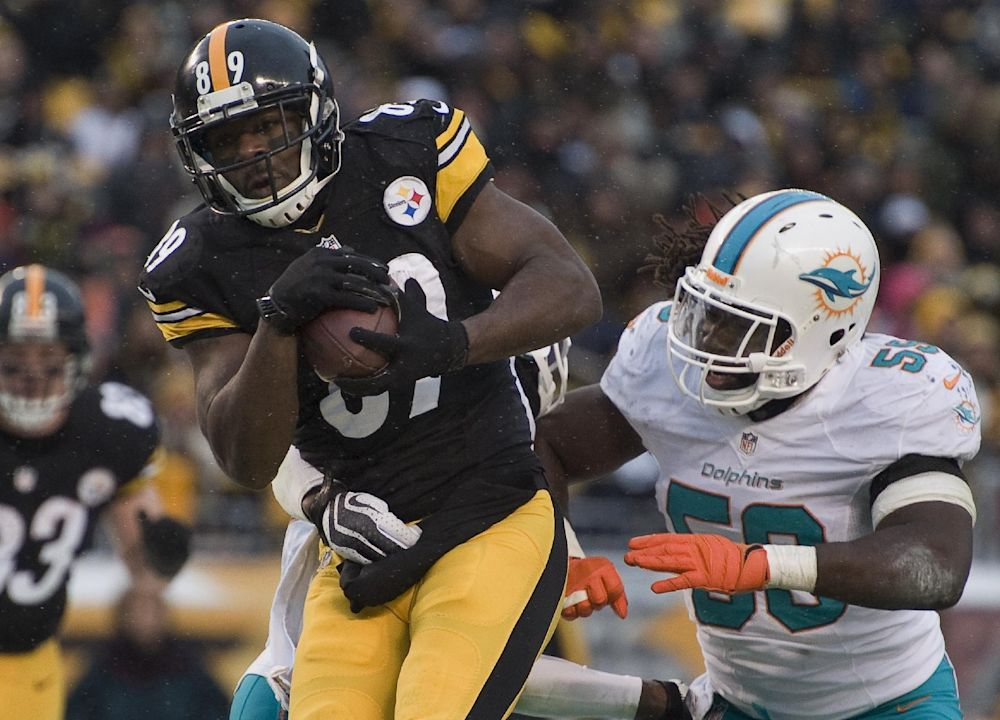 Panthers sign free agent WR Cotchery from Steelers