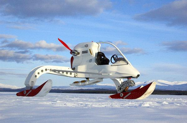 Lotus Concept Ice Vehicle promises to aid arctic expeditions, Thunderbirds missions