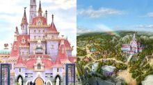 打卡新熱點!東京迪士尼《美女與野獸》粉紅公主城堡4月登場!