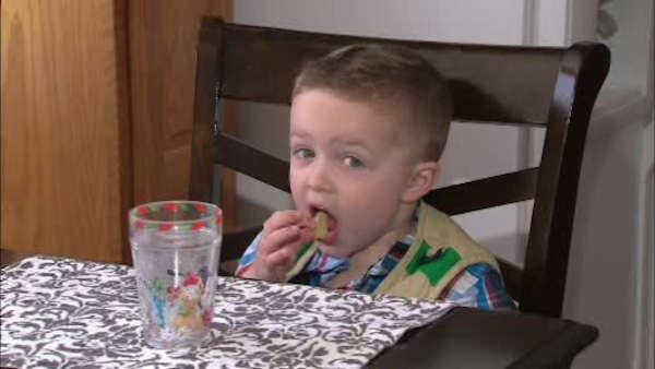 Boy with severe allergies can eat only nine foods